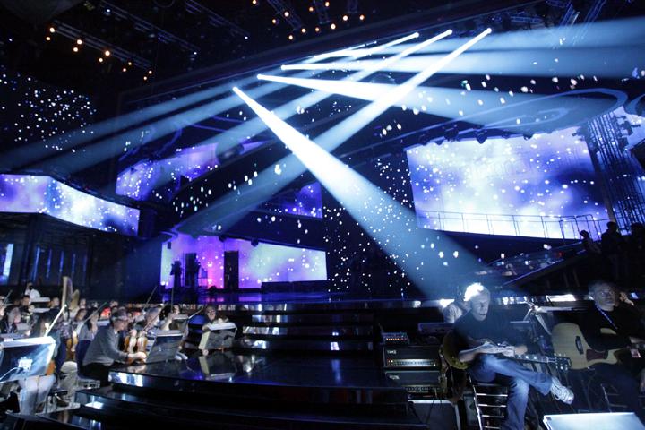 Luci scenografiche per teatri, cinema, studi televisivi, discoteche, pub, eventi