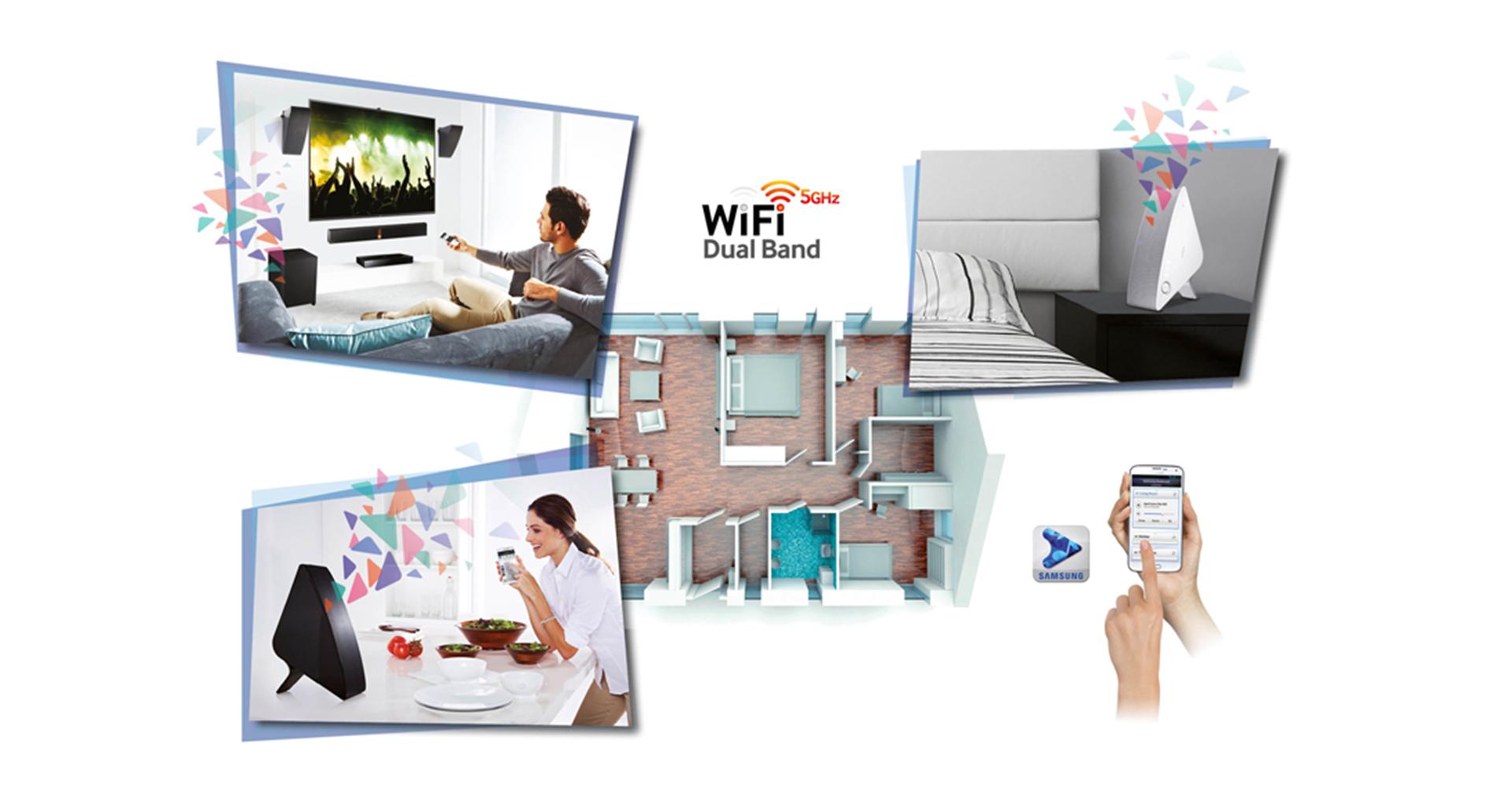 amplificazione e diffusione audio e video multi-room