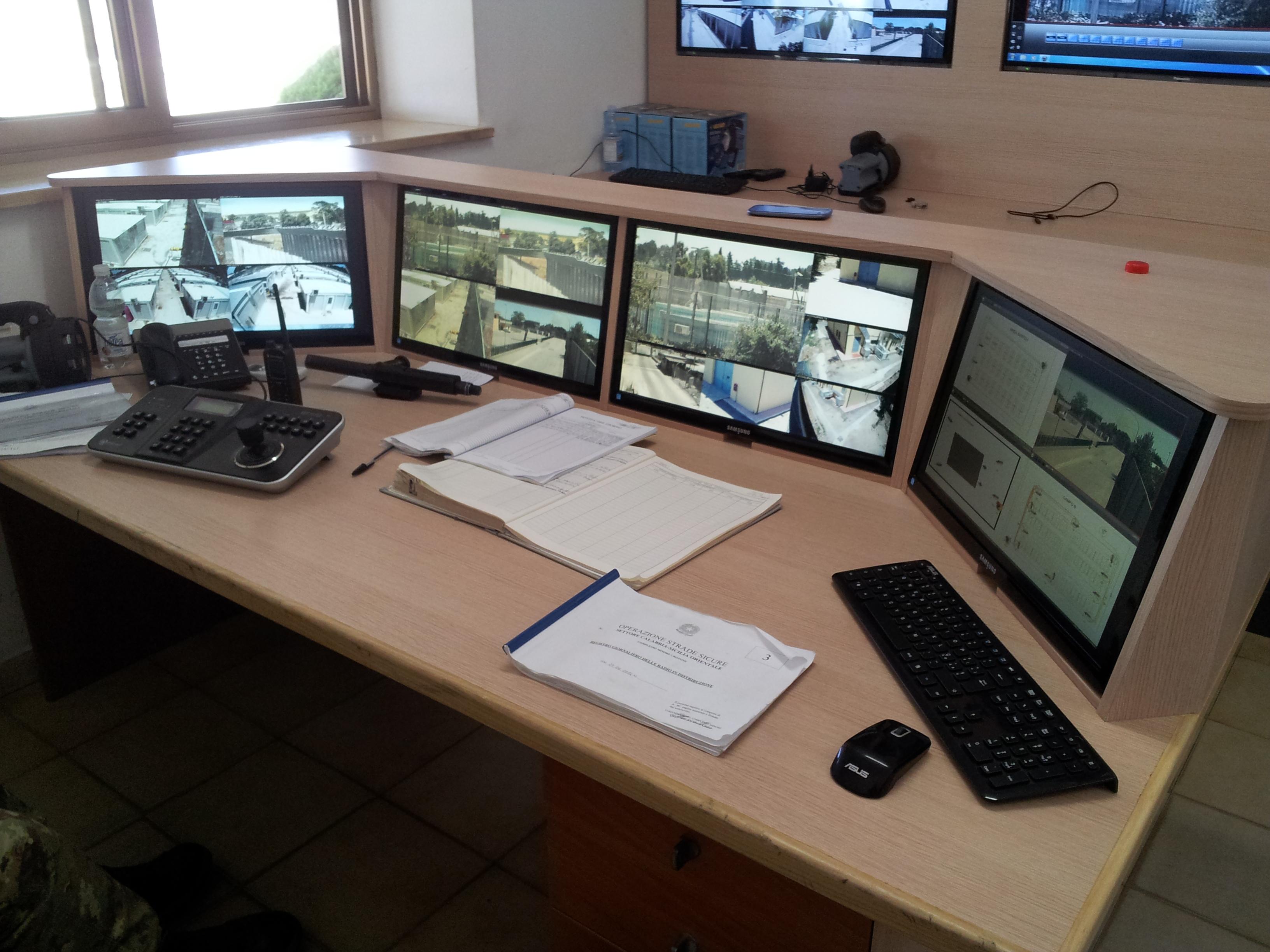 Videosorveglianza e controllo stabilimenti e impianti produttivi, piazzali, depositi, uffici